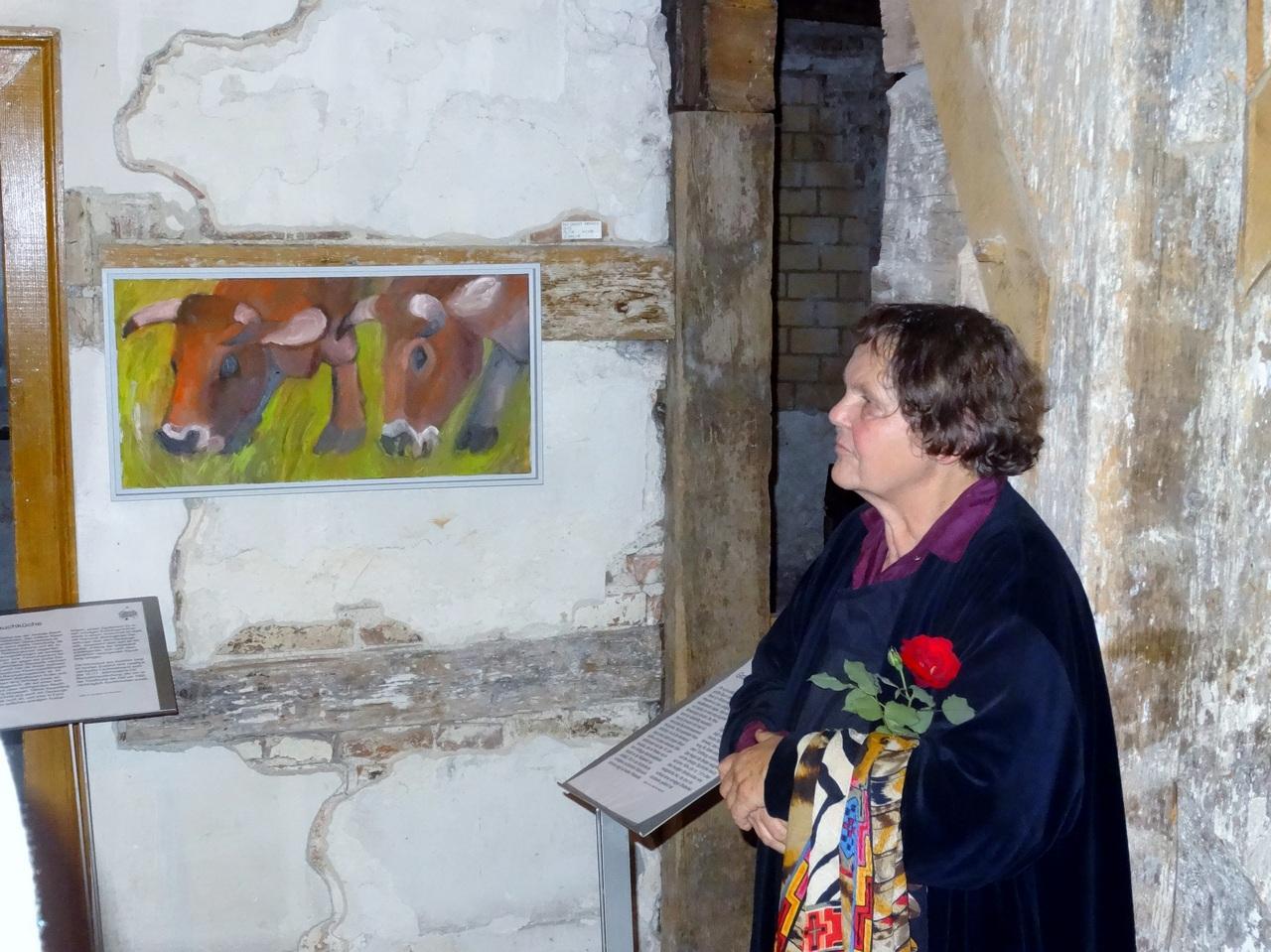 Die Künstlerin Dorothea Schrade