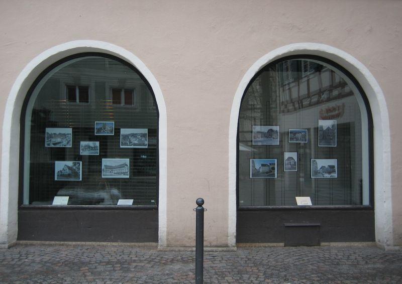 Schaufenster des Stadtarchivs