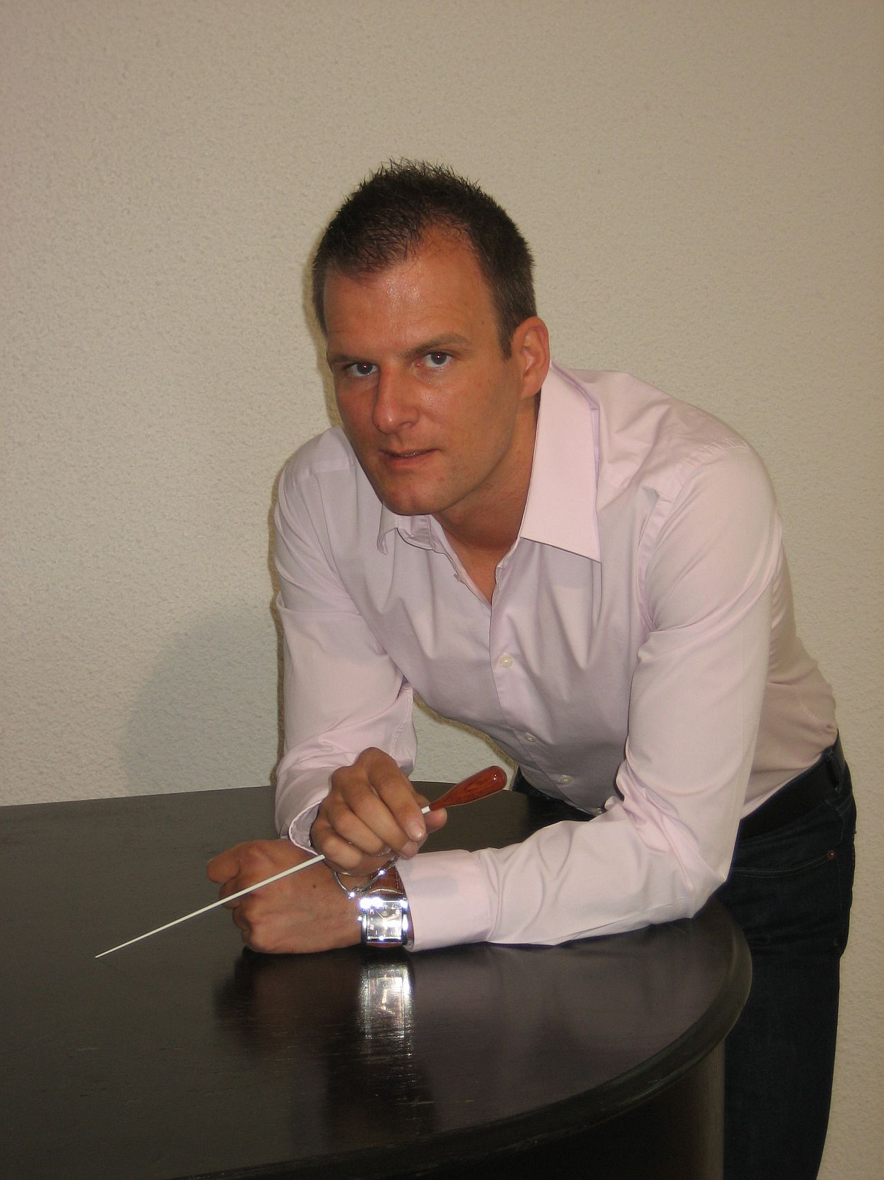 Stadtmusikdirektor Wolfgang Halder