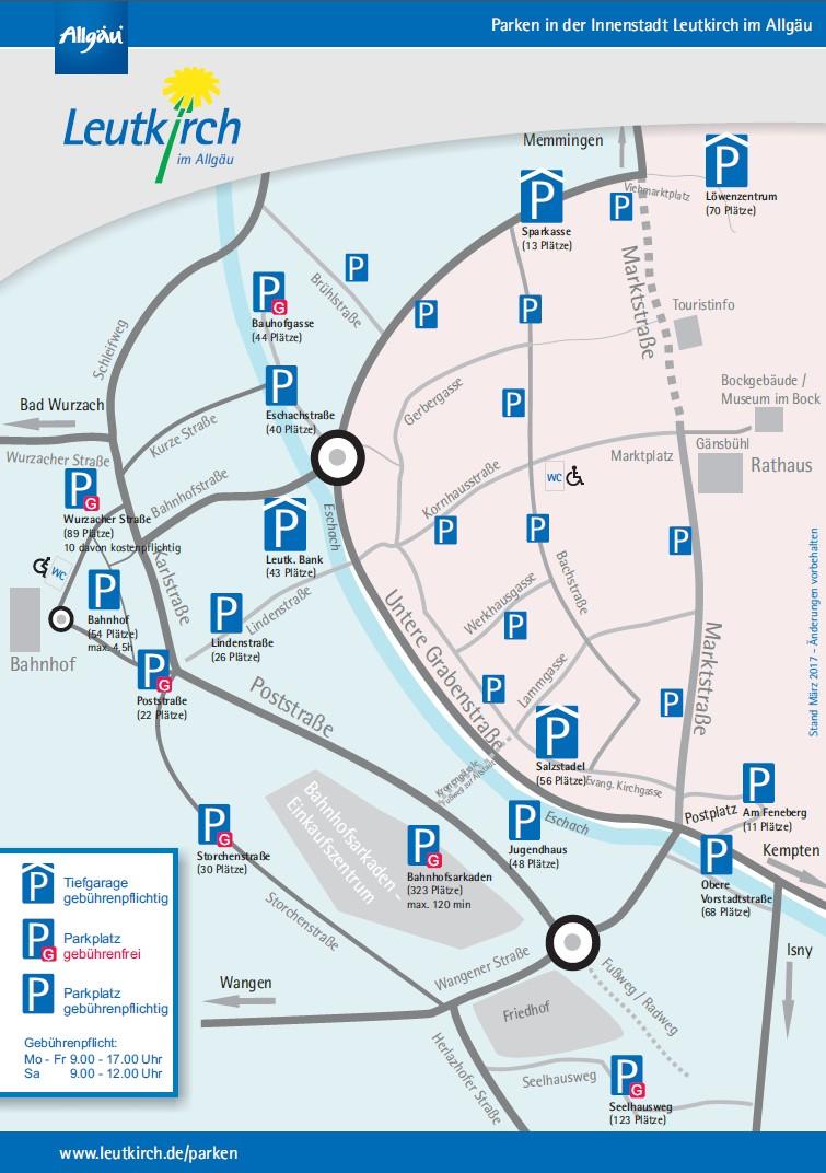 Infoblatt Parken