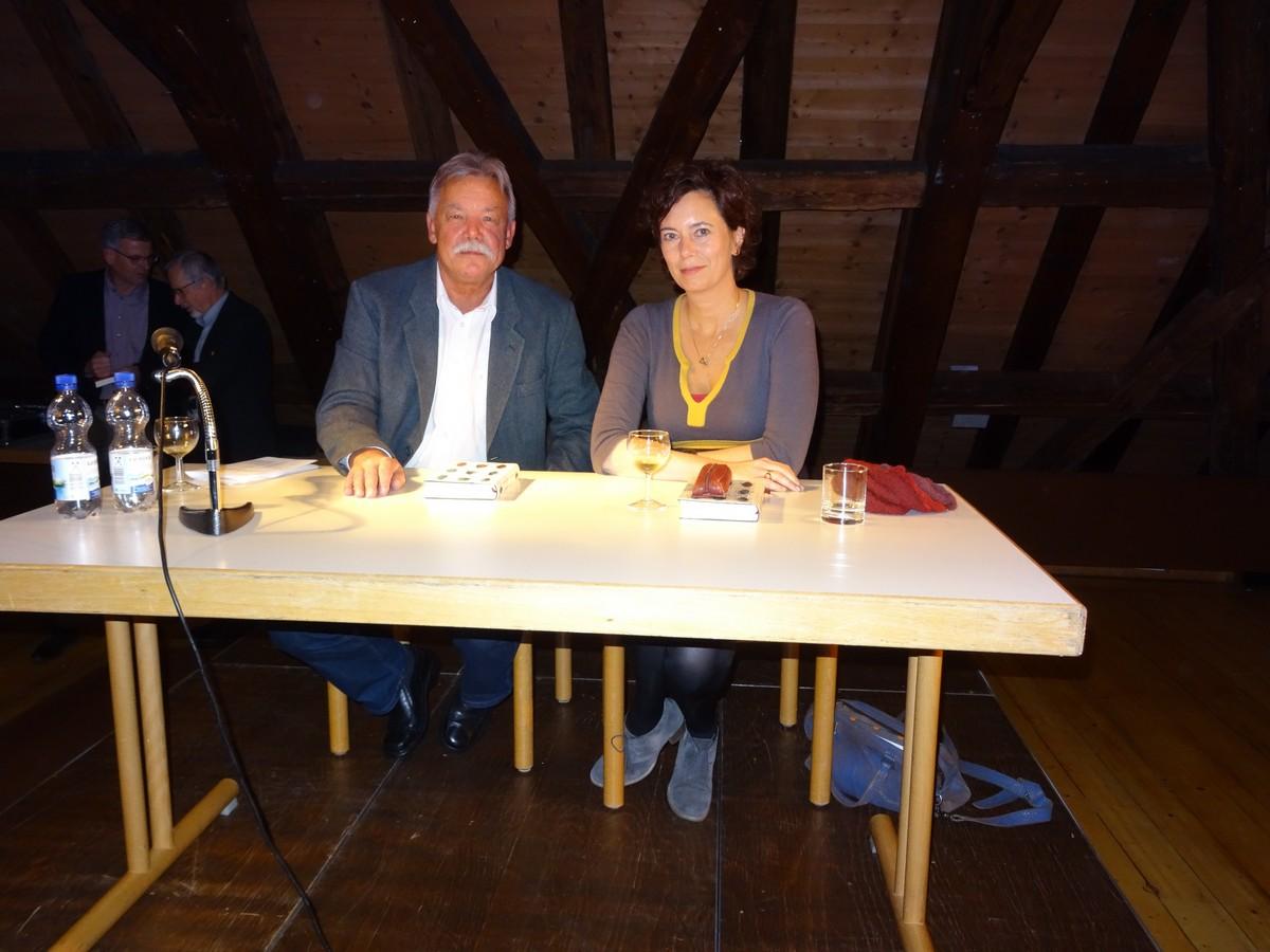 Imre Török und Eva Menasse (228 KB)