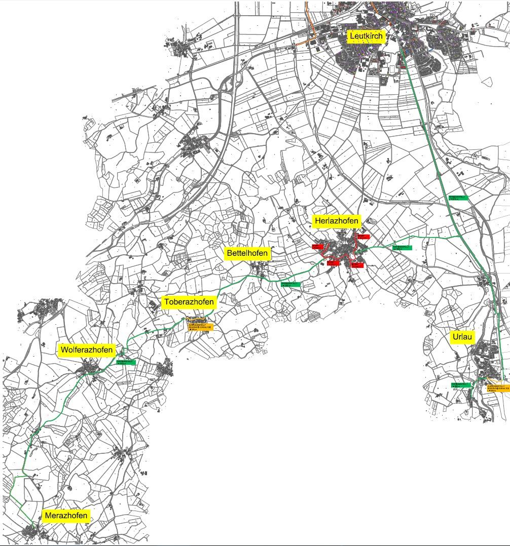 Ausbaugebiet Südwest