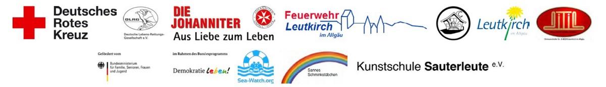 """Logos Teilnehmer """"Interkulturelle Begegnung Blaulicht"""""""