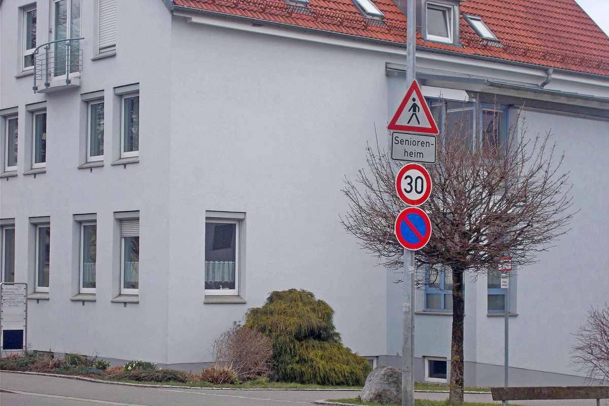 Geschwindigkeitsbeschränkung beim Seniorenheim in der Unteren Grabenstraße