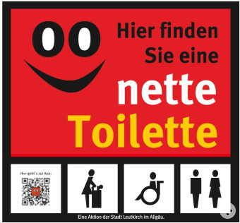 Die nette Toilette in Leutkirch