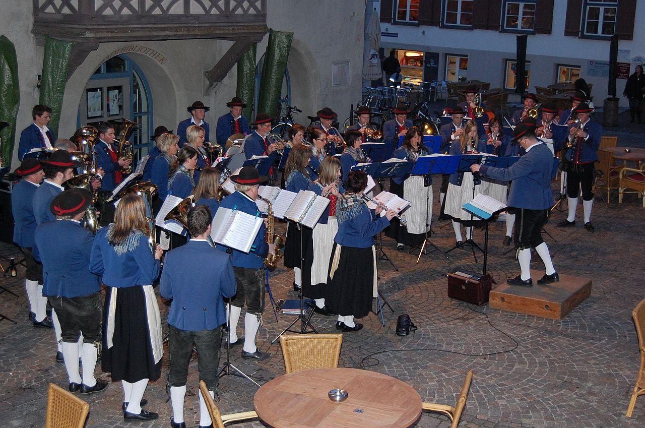 Standkonzert Musikverein Wuchzenhofen Foto Carmen Notz