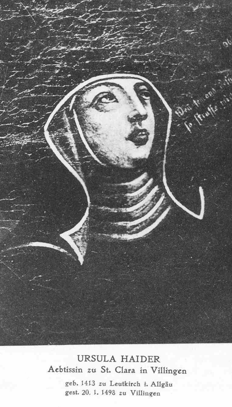 Äbtissin Ursula Haider