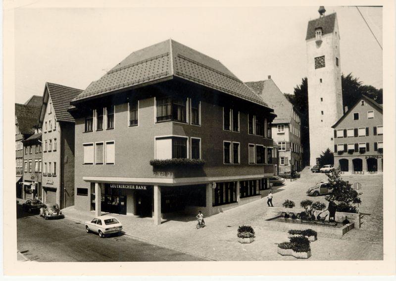 Gänsbühl mit Verwaltungsgebäude um 1977