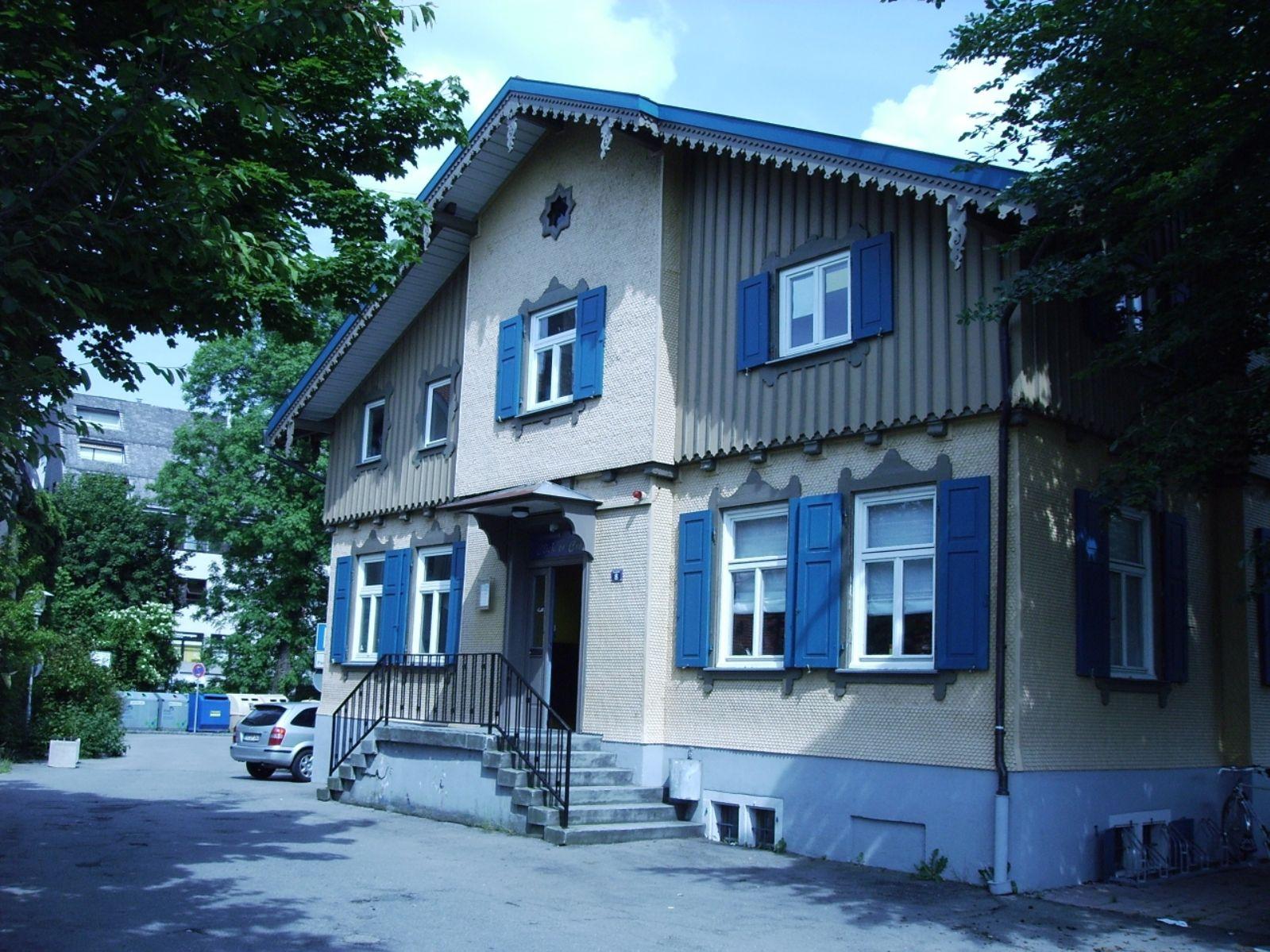 Jugendhaus Gebäude Außenansicht