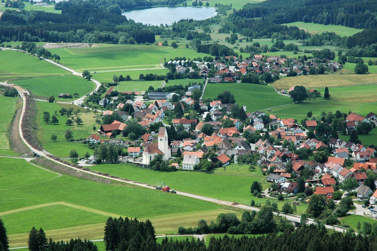 Gebrazhofen Luftbild