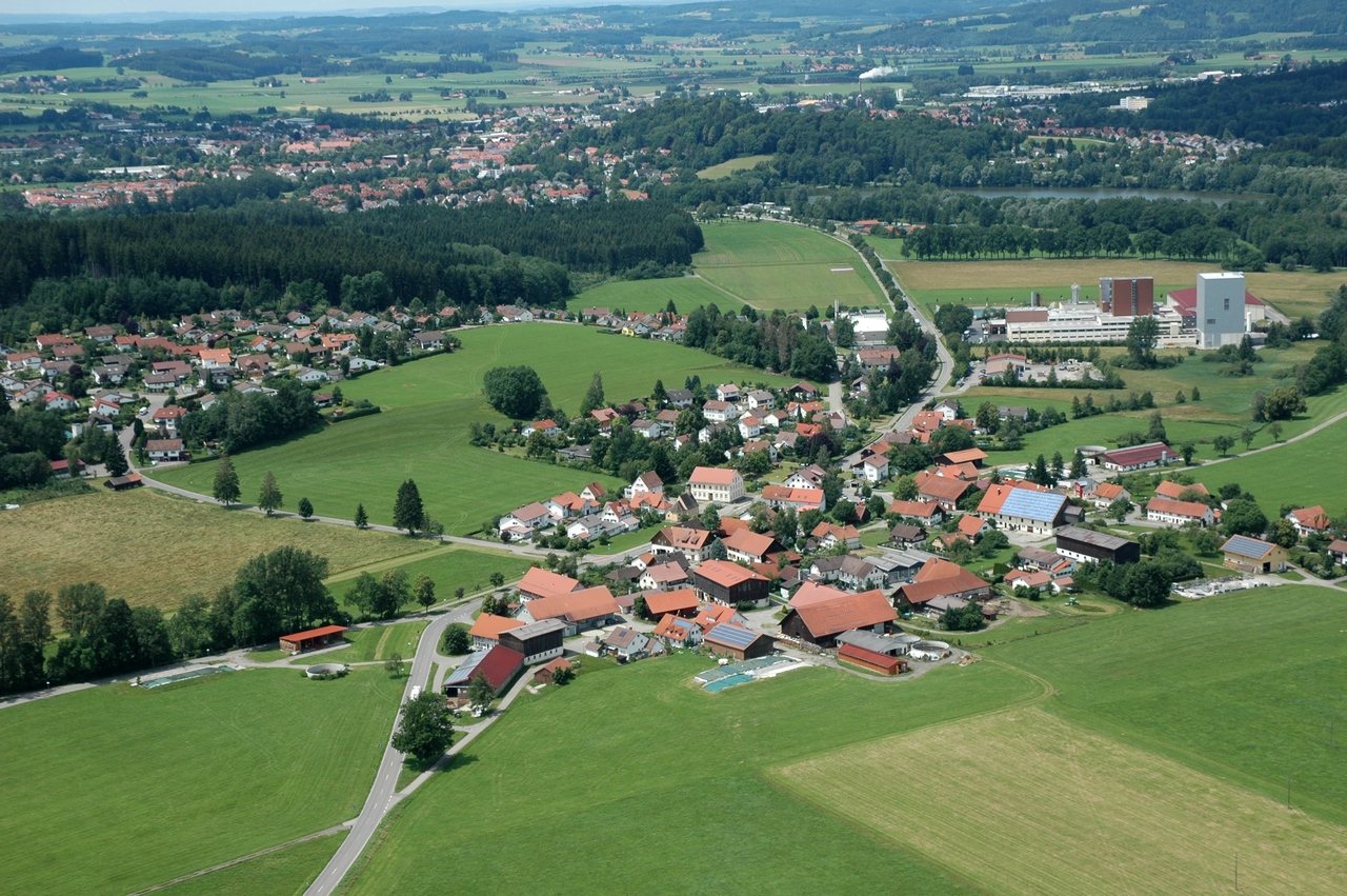 Luftbild Wuchzenhofen