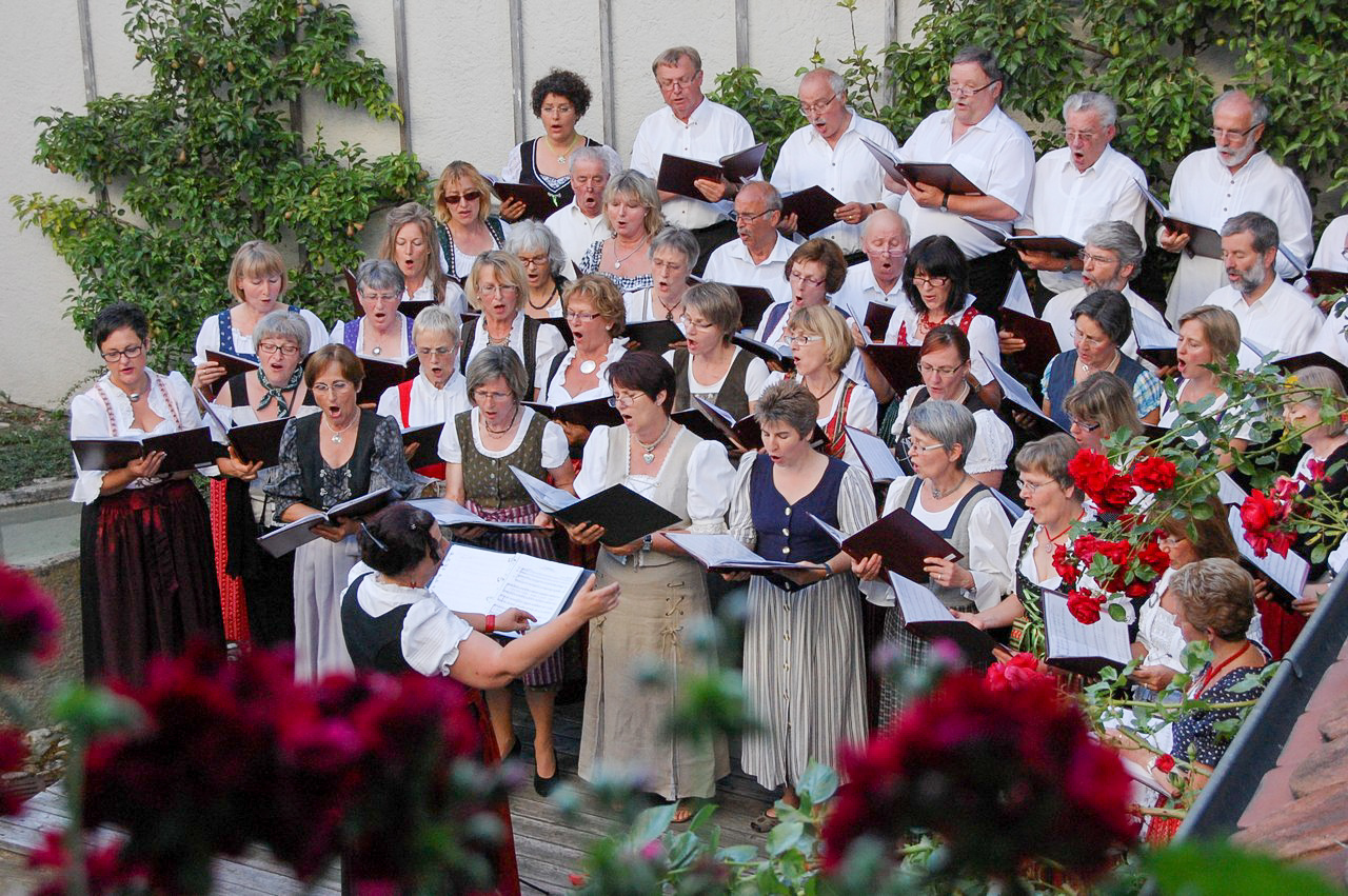 Standkonzert Sängerkranz Leutkirch Foto Carmen Notz