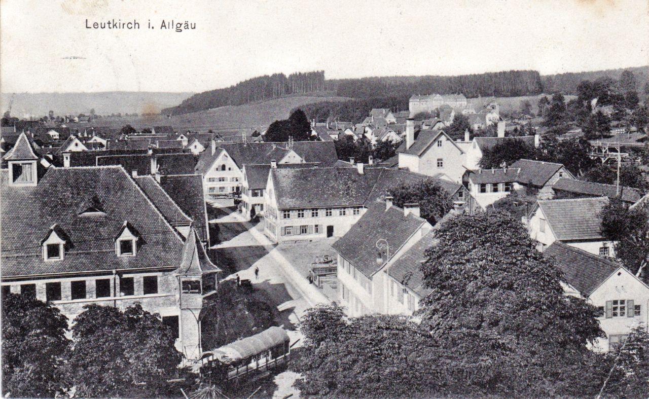 Memmingerstrasse um 1912