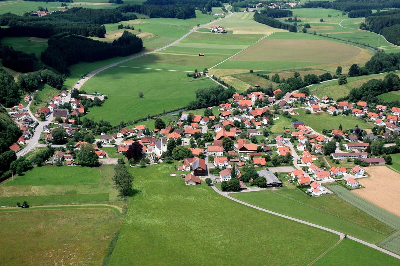 Luftbild Diepoldshofen