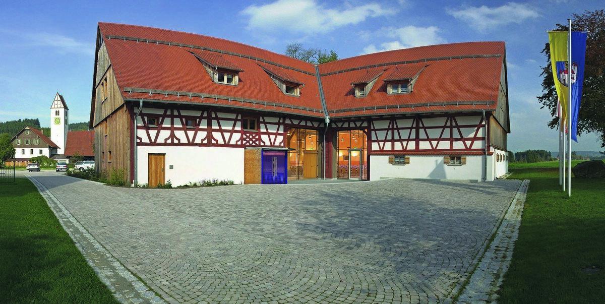 Hans-Multscher-Haus Aussenansicht