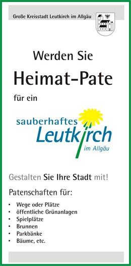 Flyer Heimatpaten