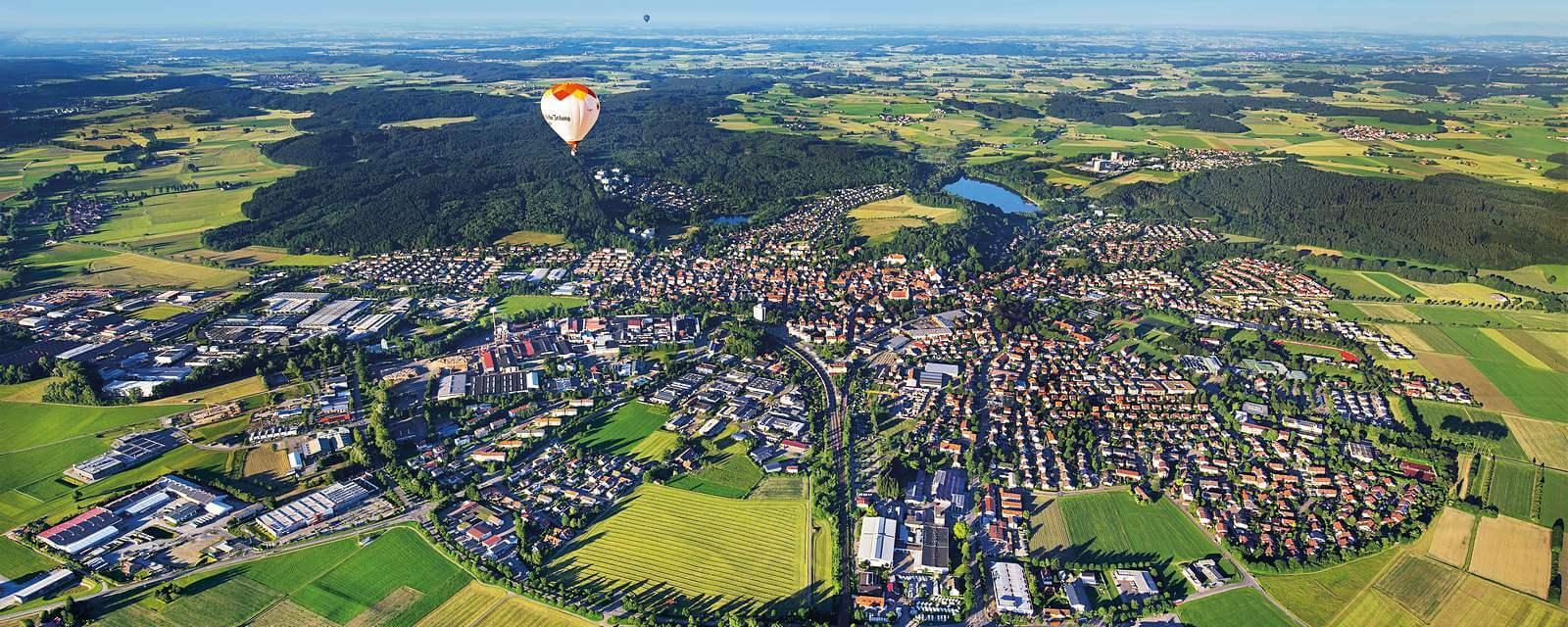 Luftbild Leutkirch