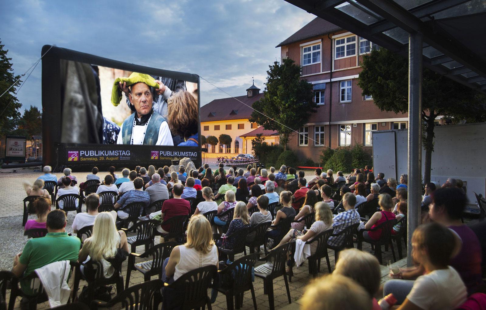 Open-Air Kino in Leutkirch