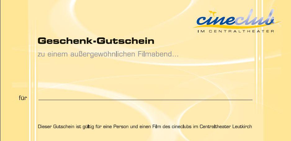 Kinogutschein Cineclub Leutkirch