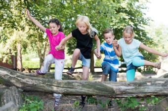 Kinder auf dem Spielplatz (Fotolia, Christian Schwier)