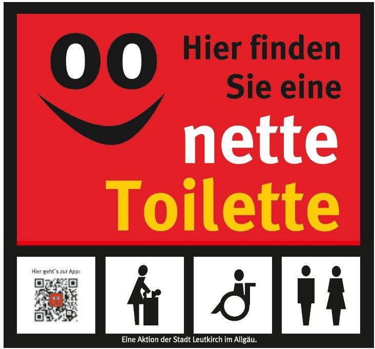 Die nette Toilette in Leutkirch