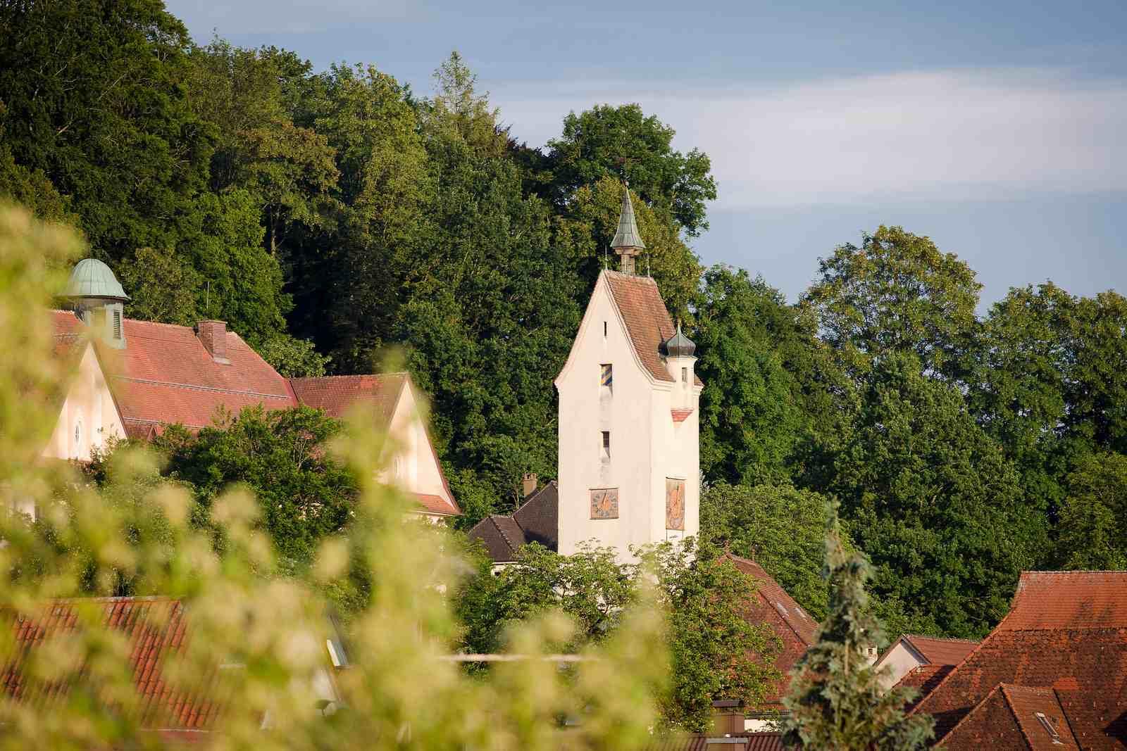 Bockturm in der Leutkircher Altstadt