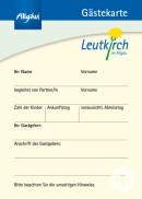 Gästekarte Leutkirch