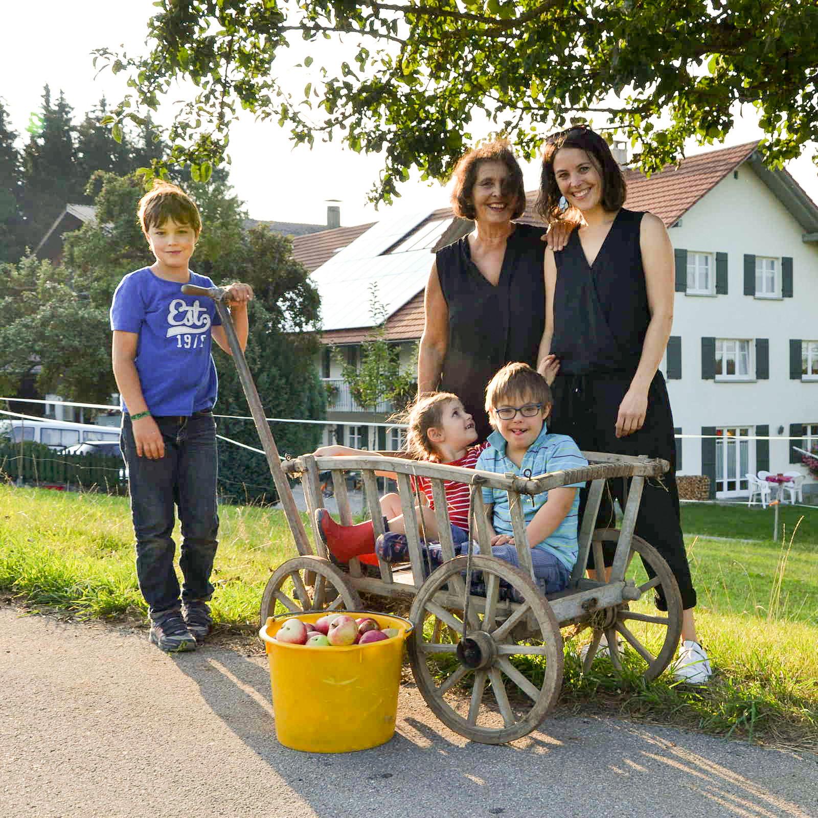 Familie Bellmann zu Gast in Leutkirch