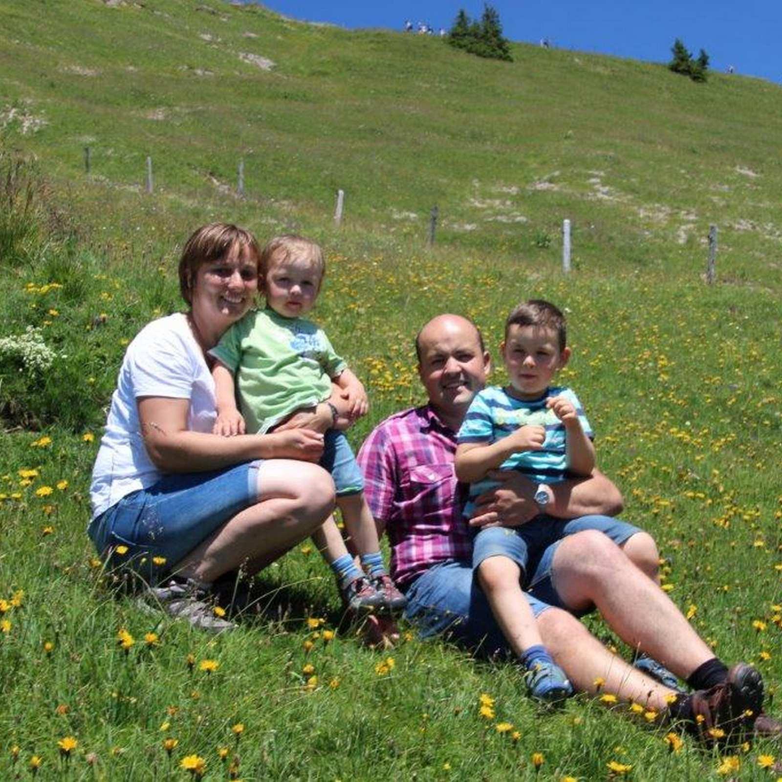 Familie Rösch vom Allgäu Bergferienhof in Diepoldshofen