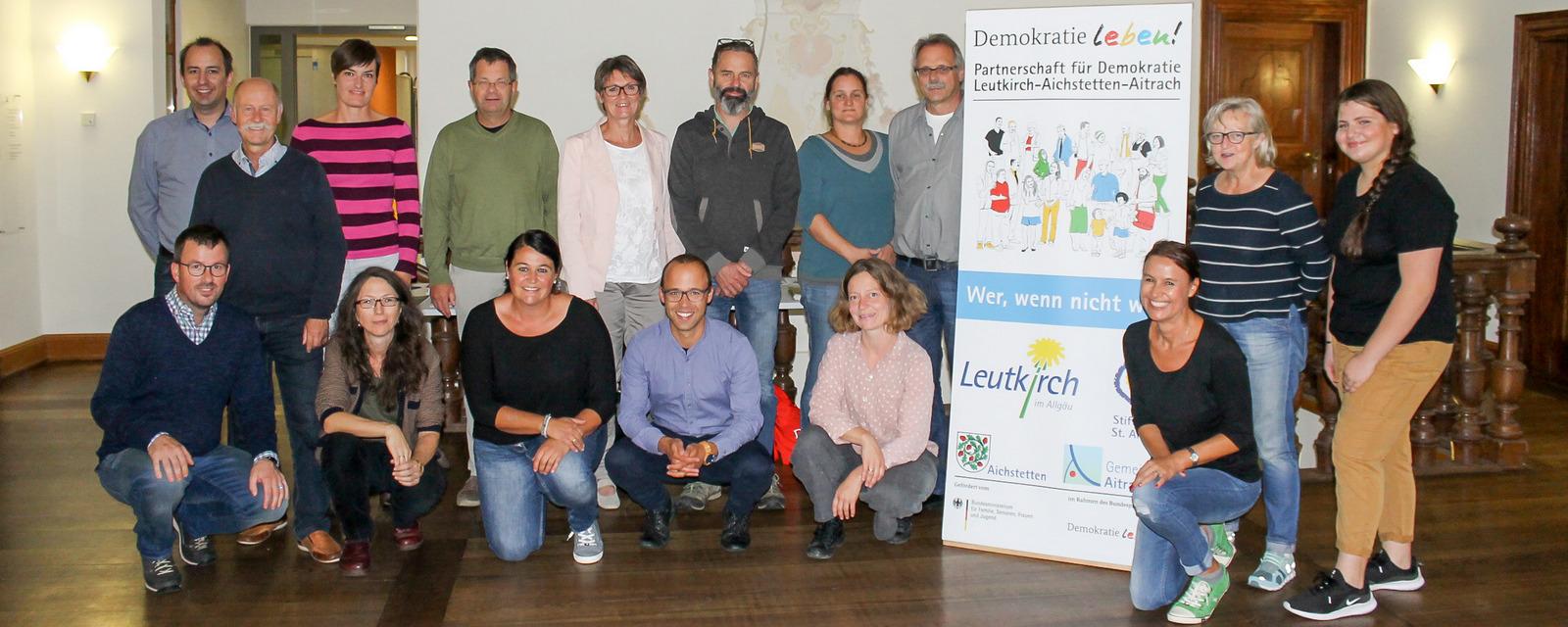 """Begleitausschuss """"Demokratie Leben"""" Foto: Simon Nill, SZ"""