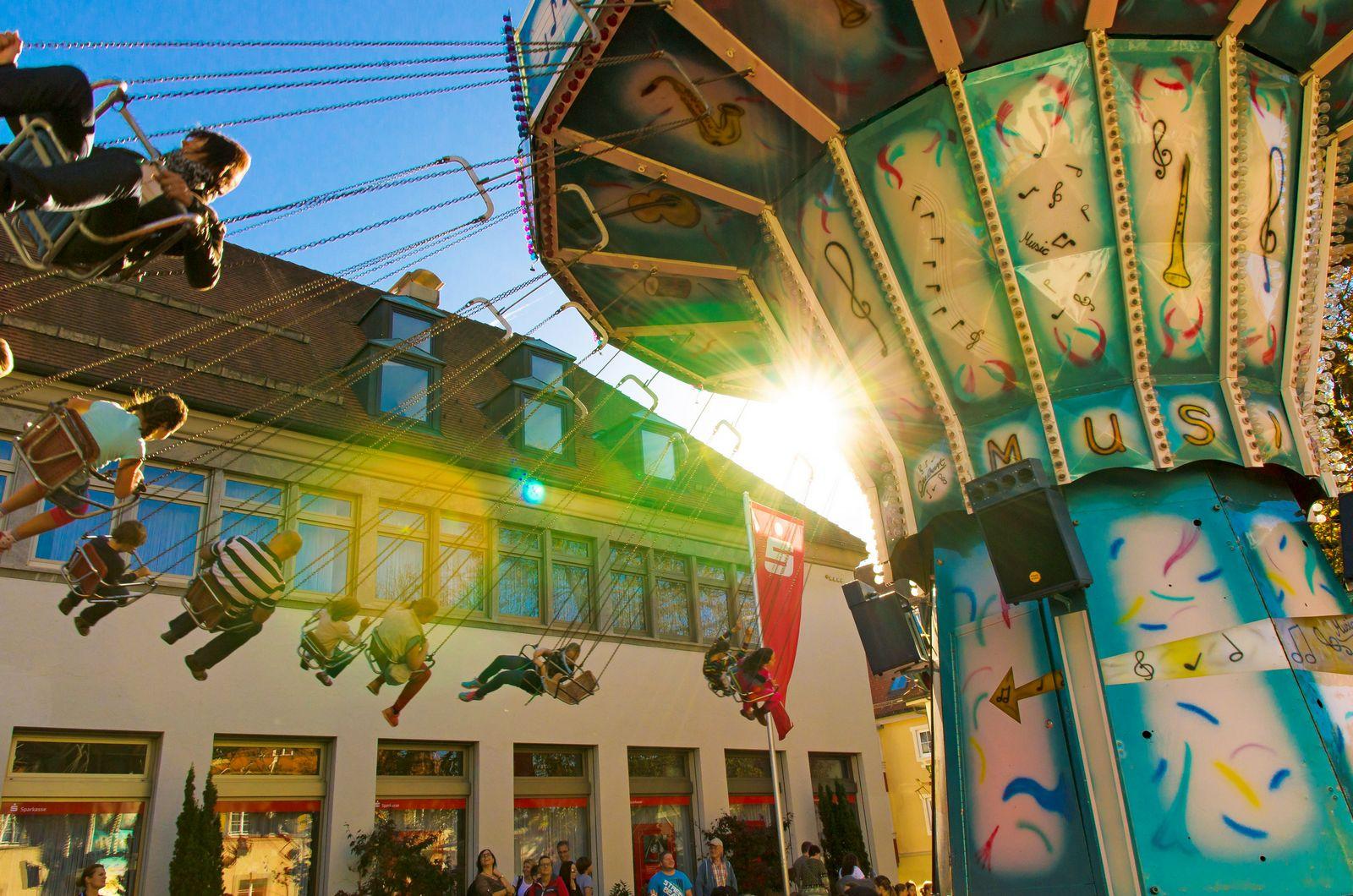 Karussell am Gallusmarkt