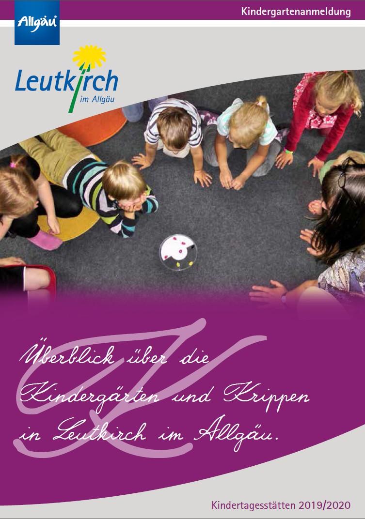 Broschüre Kindergartenanmeldung