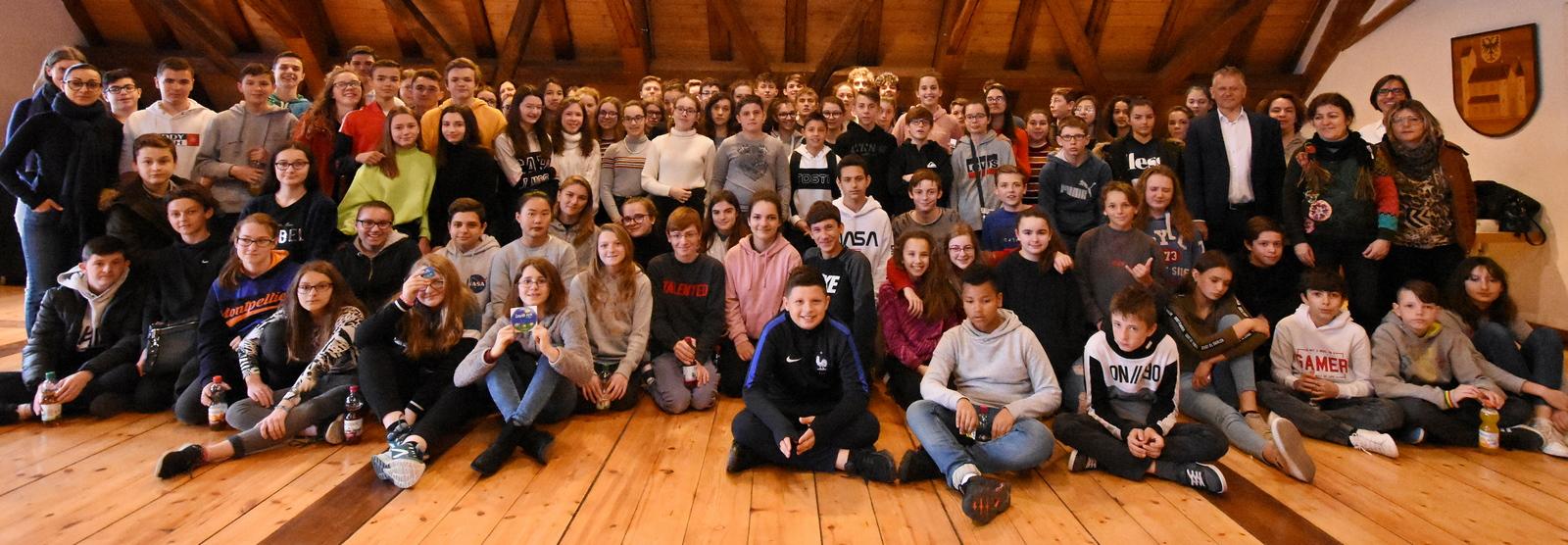 Französische Austauschschüler besuchen Leutkirch