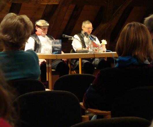 Iny und Elmar Lorentz bei der Lesung