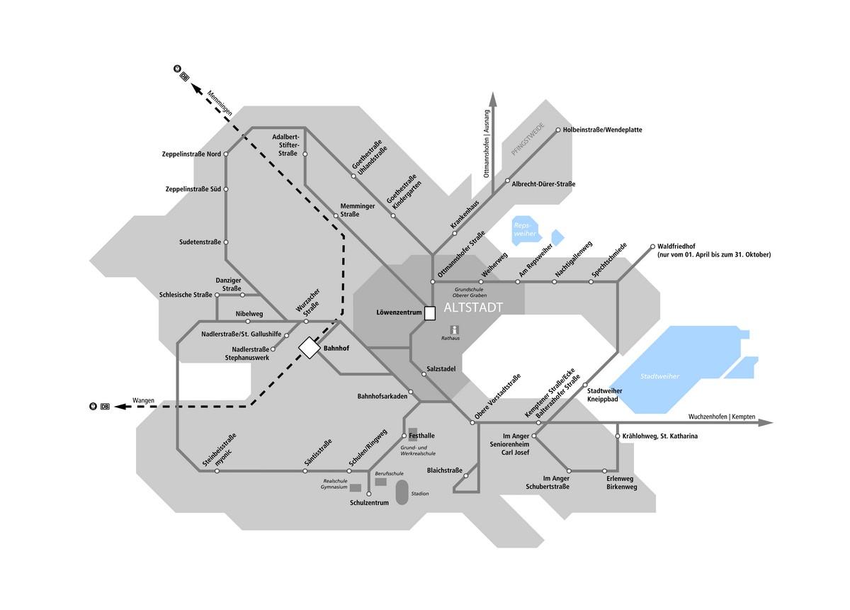 Linienplan 2013