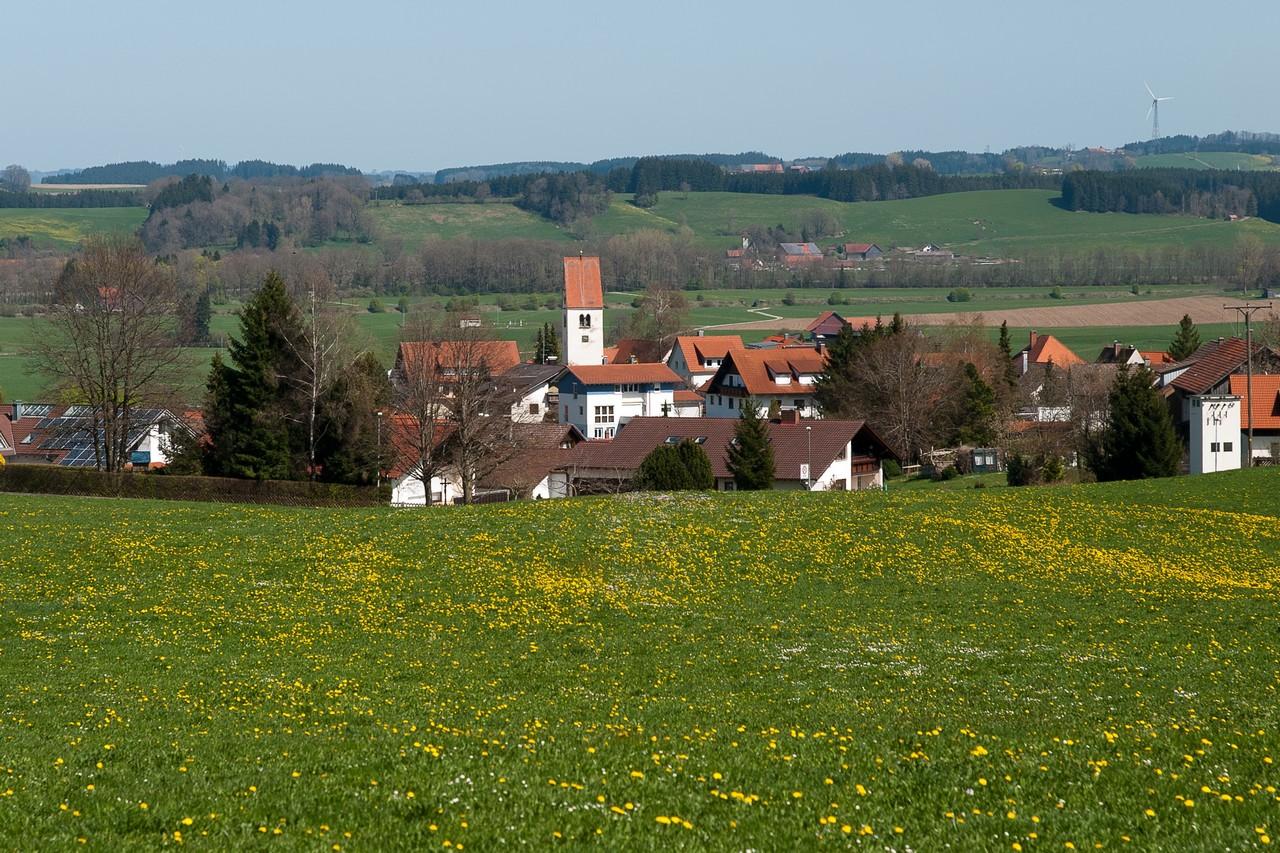 Ansicht von Herlazhofen