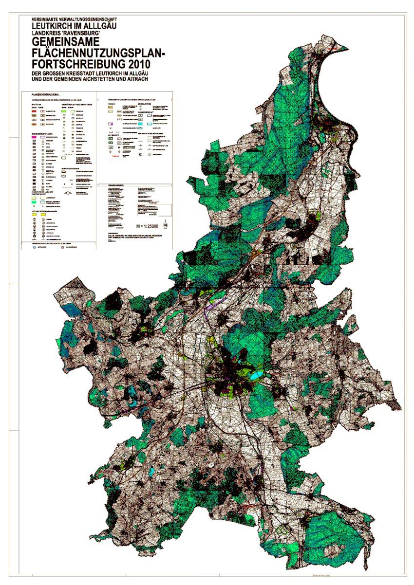 Flächennutzungsplan 2010