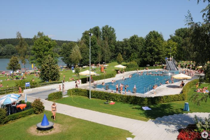 Freibad Leutkirch Stadtweiher