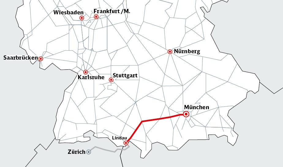 Karte Deutschland mit ABS 48