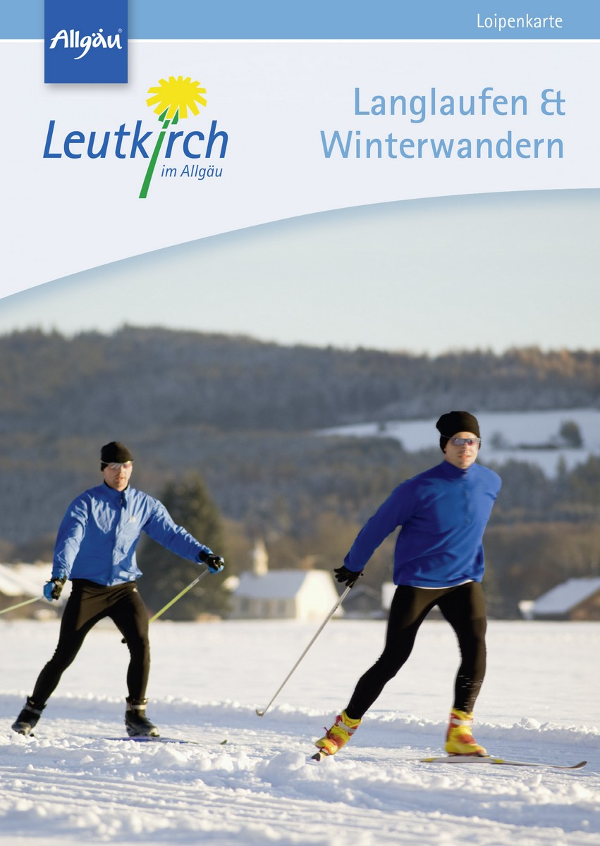 Loipenkarte Leutkirch