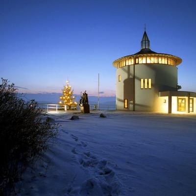 Galluskapelle Leutkirch im Winter