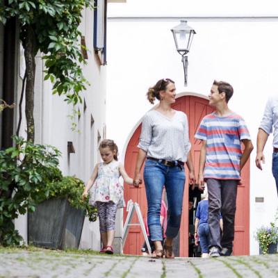 Gäste in der Leutkircher Altstadt