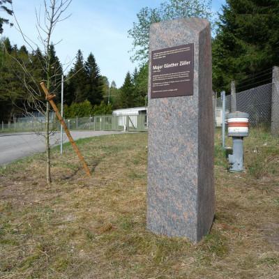 Gedenkstein für Günther Zöller