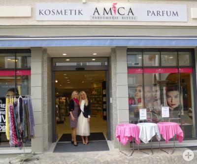 Außenansicht AMICA Parfümerie Bittel