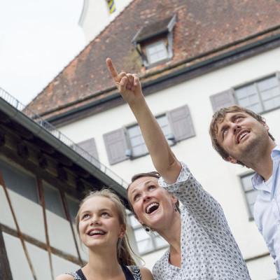Gäste in der Altstadt