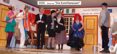 """2010: Szene aus """"Die Kunstbanausen"""""""