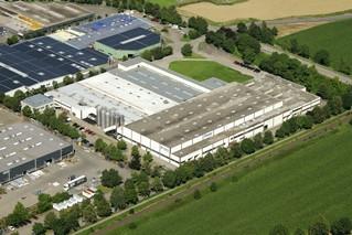 Luftbild der Novoplast Verpackungen GmbH