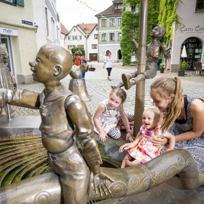 Kinderfestbrunnen Leutkirch