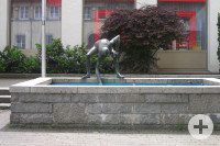 Wasserschöpfer Brunnen Leutkirch