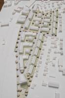 Modell des städtebaulichen Entwurfs